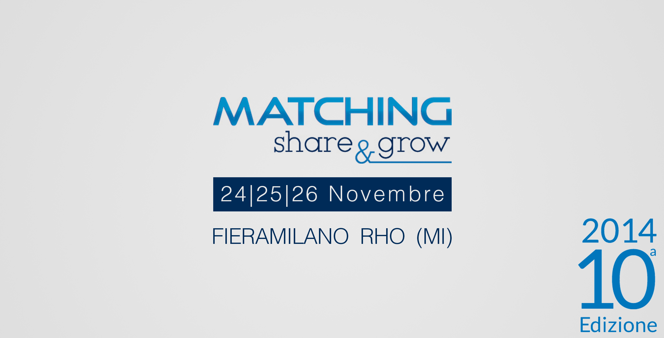 Matching 2014