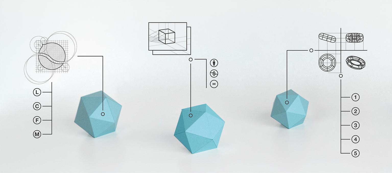 Energia e intuizione al servizio dell'azienda. Communication, Visual e Product Design